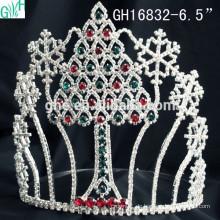 Schöne Prinzessin Kopfschmuck & Schneeflocke Weihnachtsbaum Krone
