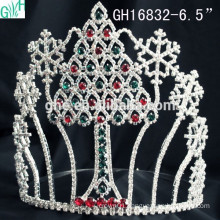 Beautiful princess headdress & snowflake Christmas tree crown