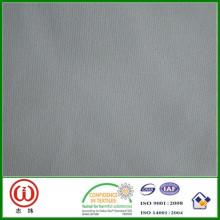 Acabamento duro liso / sarja 100% poliéster terno interlining
