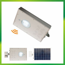 All in One 8W lampadaire LED solaire