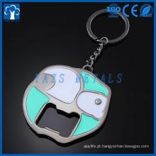fabricante de metal keychain porta garrafas custom