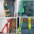 Colorful New POM Material Plastic Work Glove Clips Holder