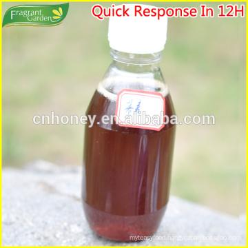 dark amber honey