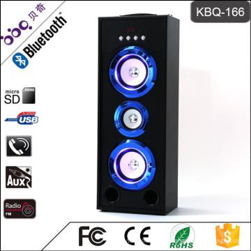 Altavoz subwoofer Bluetooth KBQ-166 25W 3000mAh para barbacoa