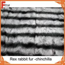 Genuine Animal Fur Rex Chinchilla