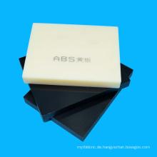 Fabrik Preis Extrudierte ABS-Panel für Lasergravur