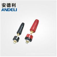 Yueqing connecteur de câble de soudage mâle et femelle fabricant en Chine