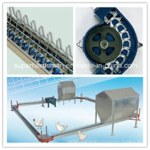 Automatic Poultry Breeder Chain Feeding Line System