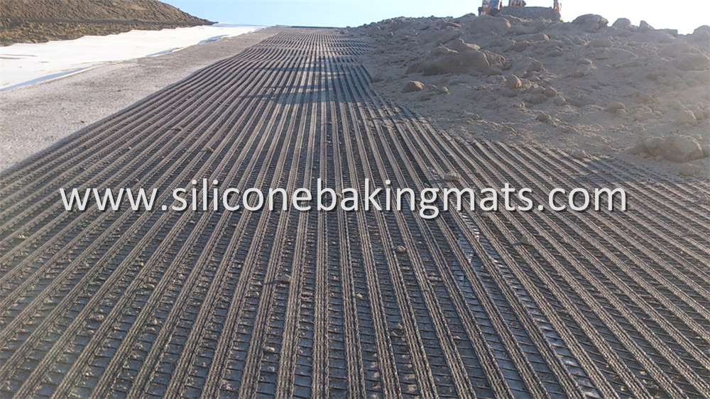 Polyester Geogrids Embankment Stabilization