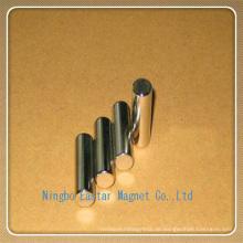 N48h Nickel Plattieren Zylinder Permanent NdFeB Magnet