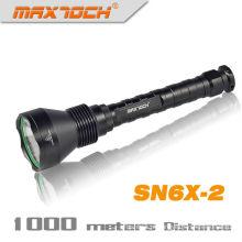 Lanterna de LED ao ar livre 18650 de longo alcance Maxtoch SN6X-2