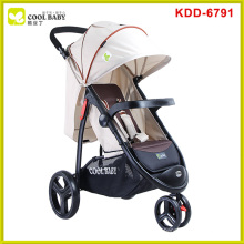 Comfortable baby jogger city select double stroller