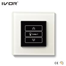 1 Gang Dimmer Switch Glass Outline Frame (HR1000-GL-D1)