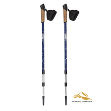 Outdoor lock portable trekking pole