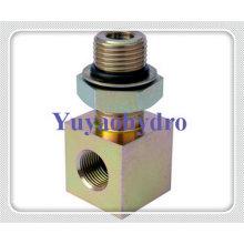 Bloco de adaptador especial de conexão de rosca hidráulica