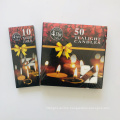 8g mini 100pcs cheap pressed tea light candle 50pcs box packing