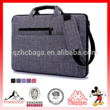 Saco de mensageiro laptop extravagante, laptop e tablet saco para viajar, negócios, faculdade e escritório