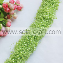 fruit green 3&8MM imitation faux pearl garland for DIY jewelry