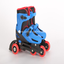 New kids inline skates with PVC wheels
