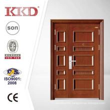 One and Half Exterior Security Steel Door KKD-523B