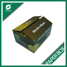 Caja de papel de pared doble de alta calidad de fábrica para el empaquetado Nuts