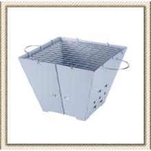 Churrasqueira quadrada dobrável de acampamento (CL2B-CD03)