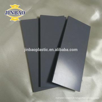JINBAO Haute qualité personnalisé en plastique rigide pvc feuille de fournisseur de porcelaine