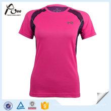 Femmes en gros d'origine Cool Dry T Shirt Sportswear
