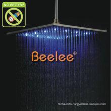 "12"" Stainless Steel LED Rainfall Shower Head"