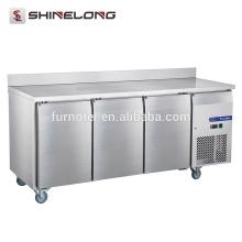 FRUC-5-1 FURNOTEL Refrigerador bajo encimera 3 Puertas Ventilador enfriador con alzatina