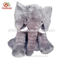 Stuffed big singing grey plush elephant