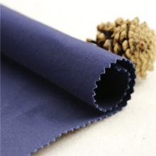 21x21 + 70D / 140x74 264gsm 144cm tiefes Meer blau doppelte Baumwolle Stretch Köper 2 / 2S alle Arten von Kleidungsstück T-Shirt Baumwolle Spandex
