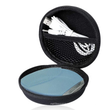 FOREO Luna Mini 2 Facial Brush hard eva case,  Hard Carrying Case for USB Power Charger Cable (Black)