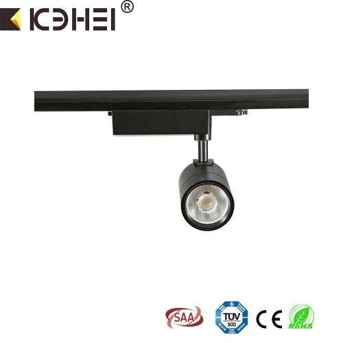 15W LED tracklight 4wire 3phase 4000K