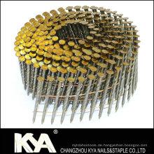 15 Deg Wire Coil Nägel für Bau, Dekoration, Verpackung