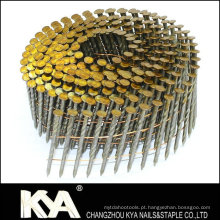 15 Deg Wire Bobina Nails para Construção, Decoração, Embalagem