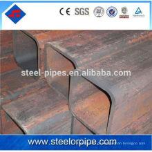 Preço do tubo de aço quadrado de 16Mn erw por tonelada