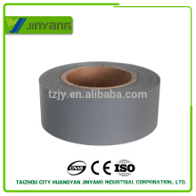 High visibility TC fabric tape/grey tc reflective tape per roll