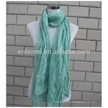 Хрусталь полиэфир крашение платья hijab шарф