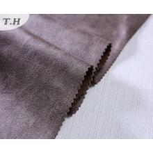 2017 Marrón Suede Fabrics Sofa Fabric Precio Por Meter