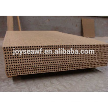 Indoor use hollow chipboard/hollow core chipboard/Tubular chipboard/particle board for door core