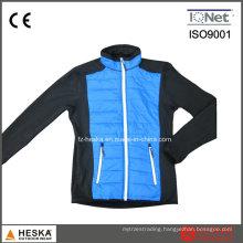 Fleece Bonded Mens Winter Nylon Padded Softshell Jacket