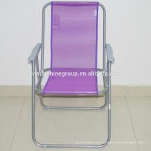 Teslin promoción silla de playa plegable