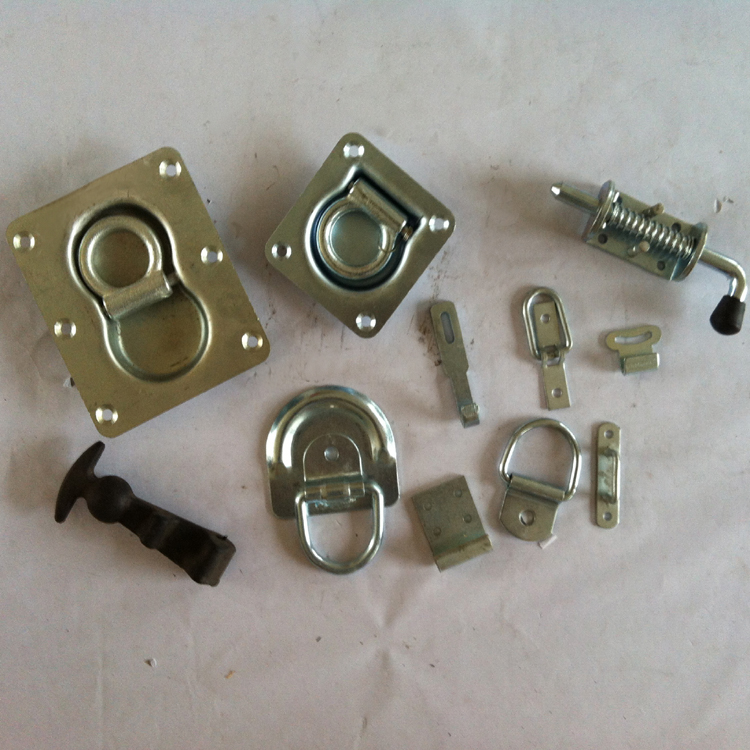 Auto Body Spare Parts Fastener,Lashing D Ring and Loaded Latch Spring Bolt Hardware