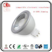 Projetor do diodo emissor de luz MR16 de 5W / 7W Dimmable 12V com base Gu5.3
