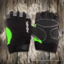 Guante de bici-guante de ciclismo-medio guante de dedo-guante de seguridad-guante de trabajo-guante de equitación