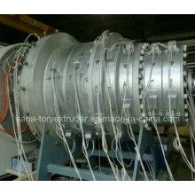 Пластичная машина ПЭ/ПП / ПВХ двустенных гофрированных труб производственная линия