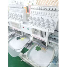 2 head shoes embroidery machine