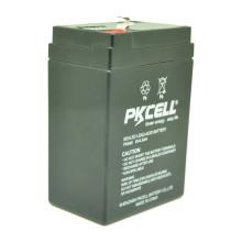 Precio al por mayor de PKCELL VRLA Batería de plomo sellada 6v 4.5ah para el sistema solar