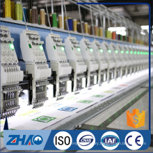 industrial good computerized embroidery double tapping flat machine